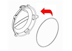 Athena  small clutch cover gasket