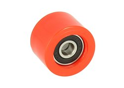Riolo 34x22,5x8 chain roller with bearing color red