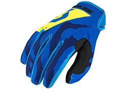 Scott 350 Race 2017 gloves color blue
