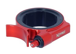 Xtrig shock absorber preload adjuster color red