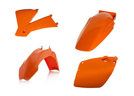 Acerbis  plastic kit color orange