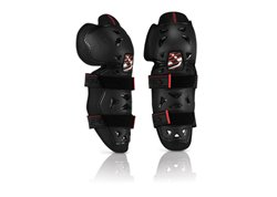 Acerbis  Profile 2.0 kid knee guards color black
