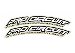 Pro Circuit stickers fender