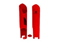 Racetech fork slider protectors color red