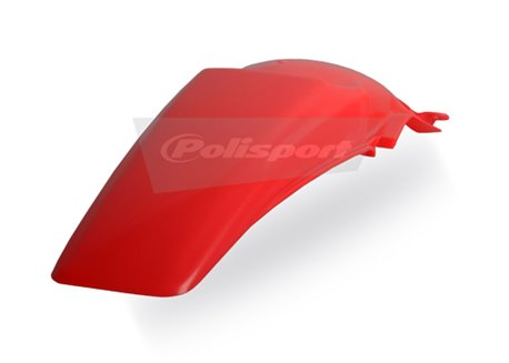 Polisport  rear fender color red fluo