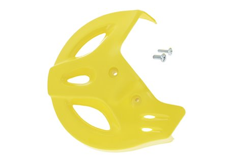 Ufo  front disc guards color yellow