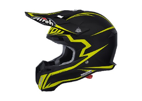 Airoh Terminator 2.1 Fit 2016 helmet color yellow/ black mat size L