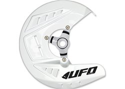 Ufo  front disc guards color white