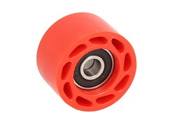 Riolo chain roller with bearing color red