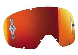 Scott Buzz 2017 Works kid lens mirrored color orange