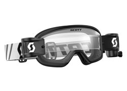 Scott Buzz Mx Wfs Roll off's kid goggles color black