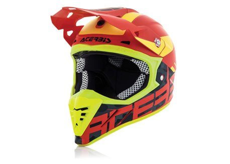 Acerbis Profile 3.0 BlackMamba 2017 helmet color red size L
