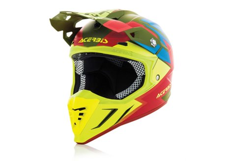 Acerbis Profile 3.0 SnapDragon 2017 helmet color green