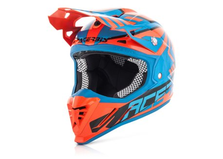Acerbis Profile 3.0 SkinViper 2017 helmet color green fluo