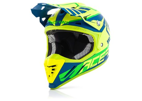 Acerbis Profile 3.0 SkinViper 2017 helmet color yellow fluo