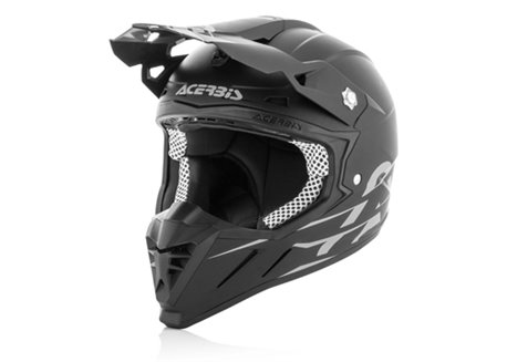 Acerbis Profile 3.0 Black 2017 helmet color black