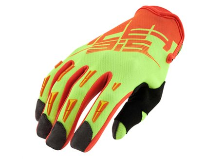 Acerbis  Mx X2 gloves color yellow fluo