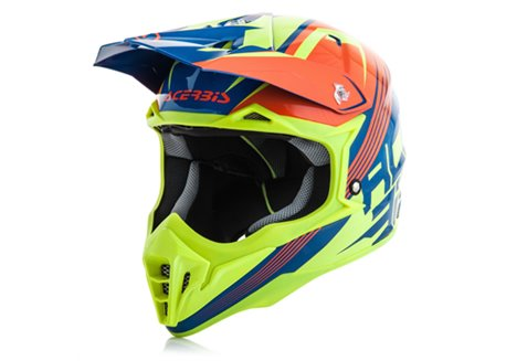 Acerbis Impact 3.0 2017 helmet color orange