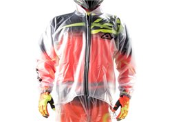 Acerbis 3.0 2017 rain jacket color clear