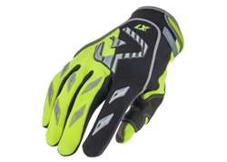Acerbis Mx 2017 kid gloves color yellow fluo