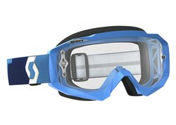 Scott Hustle Mx 2017 goggles color blue