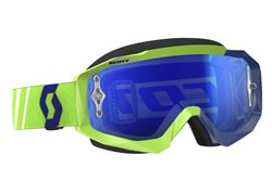 Scott Hustle Mx 2017 goggles color green / blue