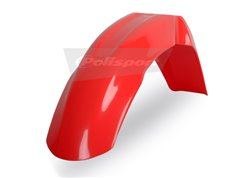 Polisport front fender color red