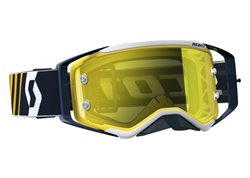 Scott Prospect Works 2017 goggles color blue / white