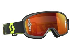 Scott Buzz Mx 2017 kid goggles color gray/yellow fluo