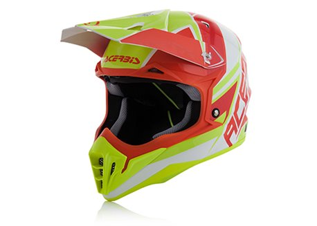 Acerbis Impact 3.0 2017 helmet color red/yellow