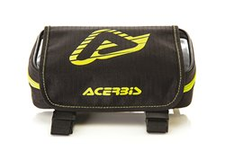 Acerbis rear fender bags color black/yellow fluo