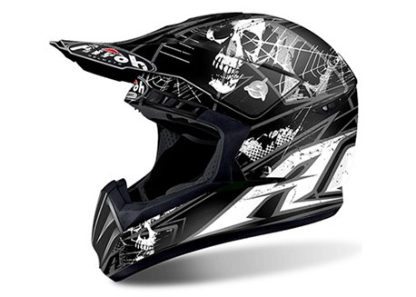 Airoh Switch Scary 2017 helmet color matt black