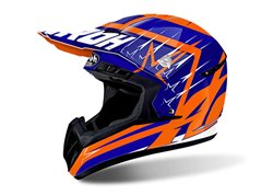 Airoh Switch Startruck 2017 helmet color blue/orange