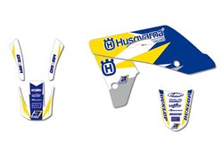 Kit stickere Husqvarna