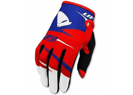 Ufo Revolt kid gloves color red