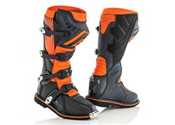 Acerbis X-Pro V. boots color orange / black