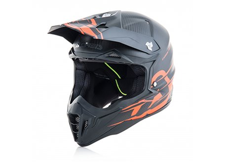 Acerbis Impact Carbon 3.0 helmet color carbon/orange
