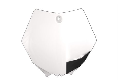 Ufo  front number plate color white
