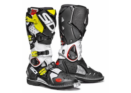 Sidi  Crossfire 2 boots color yellow/white/blue