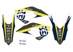 Kit stickere Blackbird Husqvarna