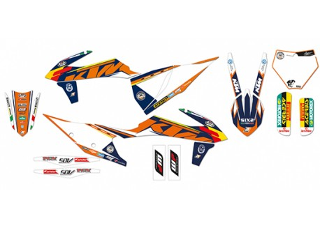 Kit stickere ktm Sxf, sx