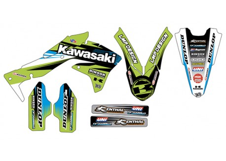 Kit stickere kawasaki kx-f 450 2016-2018