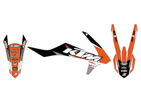 Kit stickere Ktm sx 85 Blackbird