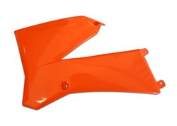 Ufo radiator covers color orange