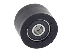 Ufo chain roller with bearing color black