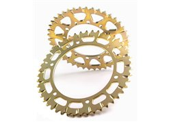 Motocross marketing rear sprockets alloy color gold