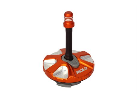 Riolo gas cap tanks color orange
