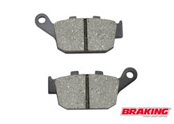 Braking  rear brake pads
