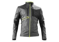 Acerbis Enduro One 2017 jacket color black / yellow