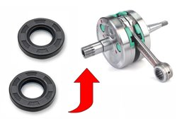 All Balls crankshaft oil seals